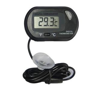 LCD Digital Aquarium Aquarium Thermometer Temperatur Wasser Terrarium Schwarz Aquarien Aquarien Fisch Freies Verschiffen