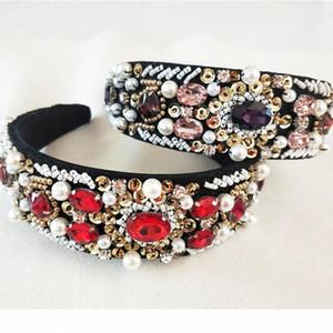 Women Lady Sequins Fashion Metal Rhinestone Head Chain Jewelry Headband Hairband crown wedding Accessories C18112001