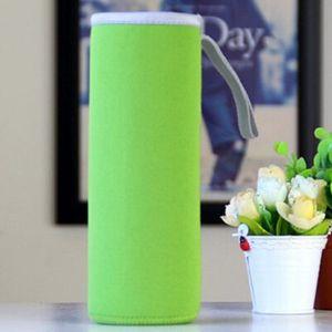 280ml / 360ml / 420ml / 550ml portavasos aislamiento de vidrio cubierta de la taza de agua creativo bolsa de neopreno Copa de limón caliente de la venta ZZF2402