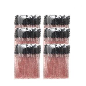 Disposable Crystal Eyelash Brush 1000Pcs lot Mascara Wands Applicator Grafting Eyelash Curling Beauty Makeup Tool hot sale