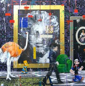 Angelo Accardi Ich ziele, wie Sie Ihr Wohnkultur-Handwerk / HD-Druck Ölgemälde auf Leinwand-Wandkunst-Leinwand-Bilder 201223