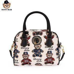 Danny Series Bear Fashion Women Handbag bonito Shoulder Causal Crossbody Bag Zipper Bag DBTB9915025
