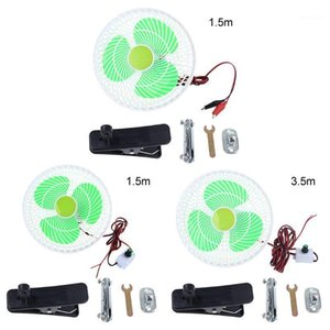 12V Oscillating Stepless Speed Air Cooling Electric Fan Swing Clip Fan for Car Vehicle Outdoor Home Camping Hiking1