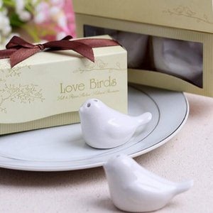 New Romantic Wedding Cute Love Birds Salt And Pepper Shakers For Wedding And Party Favors Souvenirs Gifts Lx3598