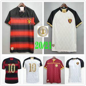 2020 2021 Sport Club Do Recife Jerseys de fútbol Yago Hernane Artur Augusto Guilherme Sander Adryelson Custom Home Away Tercera camisa de fútbol