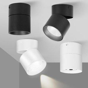 بقعة السقف LED 5W 10W 12W 20W 30W 40W 220 فولت بقعة ضوء السقف الأضواء طوي مسار ضوء الأضواء