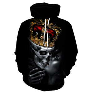 2020 hot sale Men's 3D digital printing hooded spring and autumn clothing men's hoodie sweatshirt