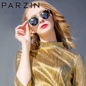 Parzin Polarized Vintage Sunglasses Women Oversized Female Sun Ladies Driving Anti-glare Glasses Accessories 9652