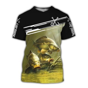 3D Printed Couple T-shirt Male Fish Print Casual T-shirt Cool Summer Mens Short Sleeve Top Youth Loose Pullover Tee Unisex 3D Custom T-Shirt