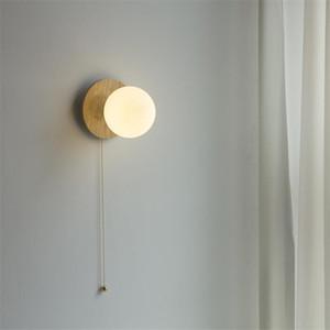 Lâmpadas de parede de latão redondo lâmpadas de parede nórdico lâmpada de lâmpada de lâmpada de lâmpada de sala de estar do corredor corredor