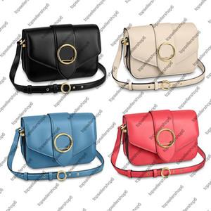 BorseLOUISLV # 13; M55948 PONT 9 BORSA donne della borsa della signora originale Smooth borsa di vacchetta borsa a tracolla della frizione Crossbody Circle Signat Hi