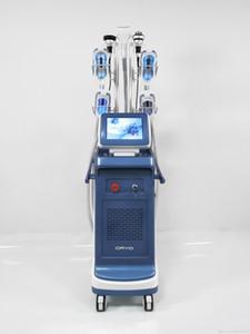 Super potente 4 Cryo Maniglia Cryolipolysis Insieme Lavorando Doppio mento Rimozione del peso Perdita di peso Laser Fat Blocco sagomatura Macchina per cavitazione