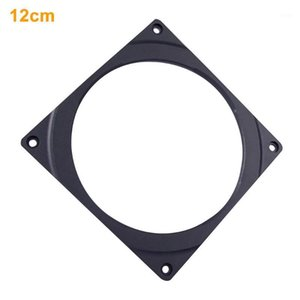 Universal High Density LEDs Ultra Thin Color Changing Styling Heatsink Home Office Computer Cooling RGB Fan Frame With Screws1