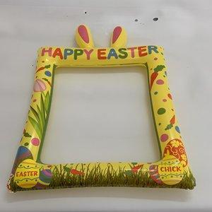 Creative Adorable Cartoon Rabbit Ear Inflatable Children Toys Party Amusement Photograph Accessories Fun Selfie Props Outdoor bbyyhj