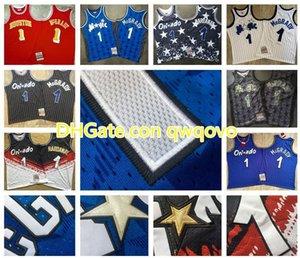 NCAA Vintage Hommes 1 Penny HardawayOrlandola magieHWC Jersey 1 TracyMcGradyMitchell Ness Swingman Basketball Jerseys