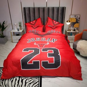 Winter Chic Design Bedding Sets Red Velvet Duvet Cover Set Queen Size Pillowcases Bed Sheet Quilt Cover Thick BeddingGQ