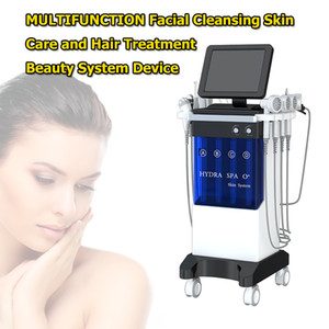 Factory Price 8 IN 1 Hydra Facial Machine Hydro Micro Dermabrasion Ultrasonic Skin Scrubber Oxygen Spray Hydrafacial Machine
