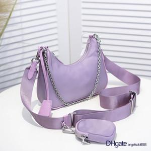 Multi pochette small pra nylon re edition 2005 shoulder crossbody bag high quality hand chain nylon bag bolsos de diseño Handbag borsetta