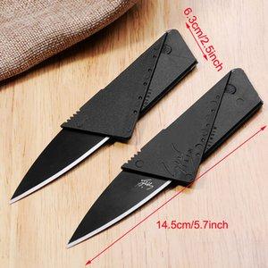 محفظة قابلة للطي سكين السلامة بطاقة الائتمان التكتيكية الانقاذ سكين مصغرة جيب التخييم العسكرية بقاء الإنقاذ سكين vtky2310