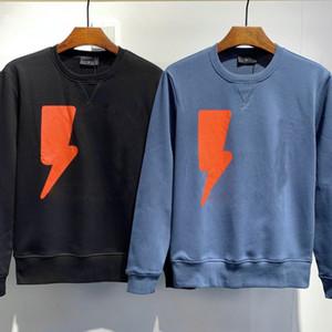 dsquared2 D2 DSQ Mens casuais de mangas compridas em torno do pescoço camisola de moda suéter primavera pullover geométrica e camisola de outono