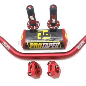 """Мотоцикл 28 мм ЧПУ 1-1 / 8 """"Бар бар Ручки Ручки Накладки для Protaper Pro Dirt Bike MotorCross1"""