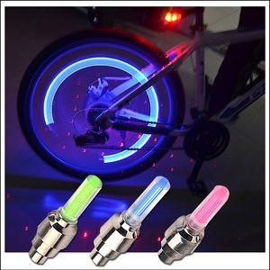Firefly habló la válvula de la rueda LED de la rueda del tallo de la tapa del neumático de la lámpara de luz de neón para la bicicleta de la bicicleta Motocicleta del coche FY4324