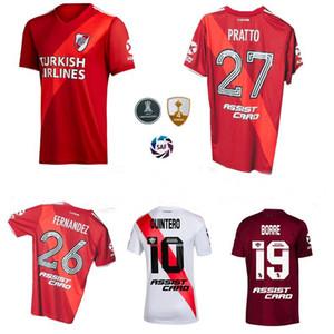 2019 2020 2021 River Plate Fußball-Trikots QUINTERO Pratto zu Hause weg 3. 20 21 Fußballhemd
