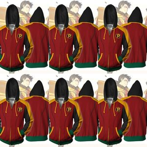 SGEhS hero4 سحاب روبن DC DC hero4 سترة مقنعين روبن مقنعين سترة سستة V0sU1