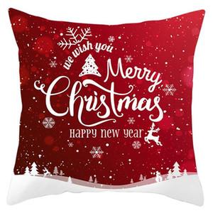 20 Styles Christmas pillow cover Home Pillowcase Sofa Office Waist Cushion Covers Car Seat Cushions 45*45cm