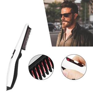 New V2 Styling Comb Beard Straightener Hair Styler Electric Comb Hair Straightening Straighten irons Curling Brush For Men Women