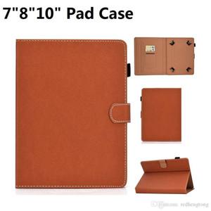 Per iPad Air Samsung Huawei Tablet PC custodia in pelle PC con slot per schede 7 pollici 8 pollici 10inch universale pad custodia