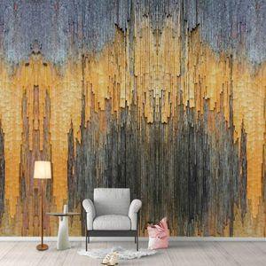 벽에 대한 홈 개선 장식 그림 벽지 거실 3D 비 짠 실크 월페이퍼 현대 미술 벽 3D 벽 종이