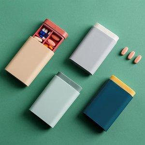 휴대용 밀봉 필 스토리지 미니 상자와 분리 분리기 공장 도매 개의 색상 사용 가능한 무료 배송
