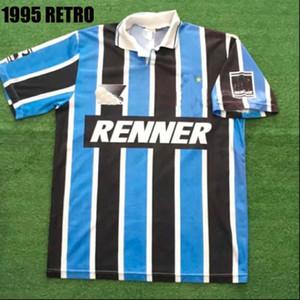 1995 Gremio Retro Soccer Jersey 95 Ronaldinho Zinho Nene Gremio Home Vintage Vecchia Camicia da calcio classica