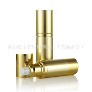 30ml vacuum bottle with gold fine goods skylight emulsion bottles with gold foil element points bottling