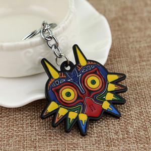 Mode Zelda Legend Majoras Masque coloré hibou modèle animal Figure Charm pendentif porte-clés Accessoires Bijoux