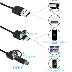 Mini Endoscope Camera 5.5mm USB Camera for Android Endoscope Inspection Camera Borescope Waterproof 6 LEDs Adjustable