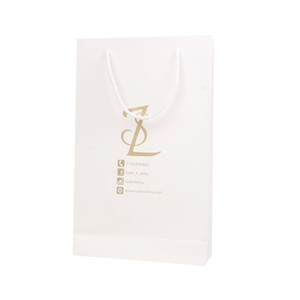 Custom brand name logo printing garment Clothing T shirt packaging paper bag with handle gift shipping paper bag packing bags