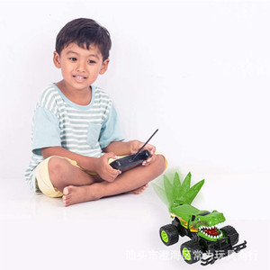Children's cross country monster stunt truck creative new high speed remote control 4WD RC dinosaur
