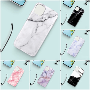 100DHL Marble Pattern Designer Phone Protective Cases Soft TPU Anti Stock Back Cover Case for iP11 12 mini Pro Max 8 7 Plus