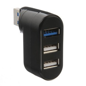 Drehbare Mini Adapter 3 Ports USB 2.0 + USB 3.0 Notebook / Tablet / Notebook-Computer-Hub