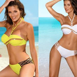 Sexy vintage print Bikinis 2020 push up Bikini set Female plus size bathing suit women swinsuit low waist swimwear xxl biquini Q1222