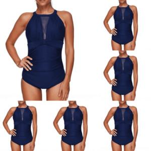 Bds Swimwear High Waist Bikinis Women BISEAFAIRY Swimsuit Plus Crop Swimwear Push Bathing plus size lady polyester swimsuit one pi Size