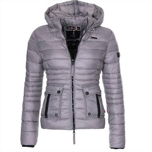 Brand New Women Winter Coat Cotton Paddedd Warm Overcoat Clothes Casual Solid Winter Jacket Women Parkas Outerwear