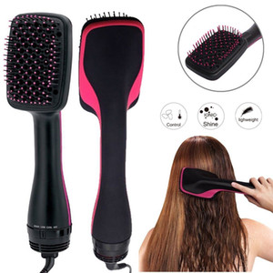 Professional One Step Hair Dryer Brush Hair Styler Comb Styling Straightener Hair Blow Dryer Curler Comb Salon Curling Iron