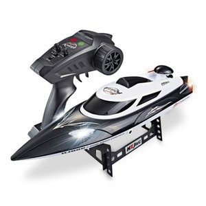 HJ806 Elettrico RC Boat 35km / h Radio ad alta velocità Remote Controlled Motboat Racing Ship Steer Adults RC Toy 201204