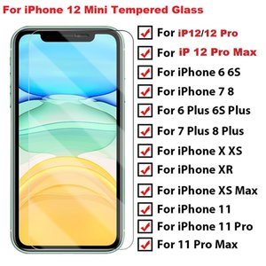 Full protective glass on iPhone 12 mini 11 Pro X XS Max XR 7 8 6 Plus screen protector Tempered glass For iphone 12 11 Pro glass accessories
