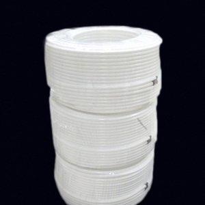 """100M / Rolle weiße Farbe No Mark 1/4"""" 6,35 mm PE-Schlauch Gartenbewässerung Landwirtschaft Schlauch für Niederdruck-Befeuchtungssystem vkTg #"""