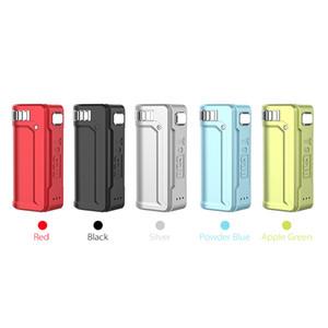 Yocan UNI S Mod bateria ajustável Diâmetro Pré-aqueça 400mAh VV ajustável Tensão Box Mods 5 cores 100% Authentic DHL grátis