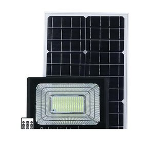 JD Updated Version Outdoor Solar LED Flood Light Waterproof Wall light with Charging Indication Spotlight for Home Garden Yard